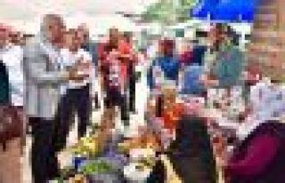 Başkan Zorluoğlu, Kireçhane pazarının 1. kuruluş...