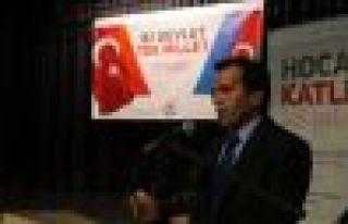 Büyükşehir Belediyesi Hocalı şehitlerini unutmadı...