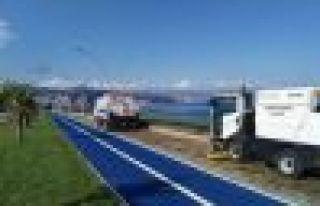 Büyükşehir bir yılda 82 bin 500 km yol süpürdü