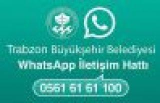Büyükşehir'den WhatsApp İletişim Hattı