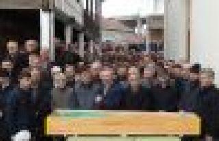 Emekli Öğretmen Bayram Murat uğurlandı