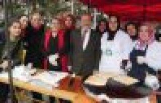 Kursiyerler kermes gelirini Mehmetçik Vakfına bağışlayacak