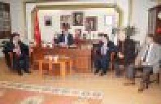 Malkoç ve Çebi Başkan Sarıalioğlu'nu ziyaret...