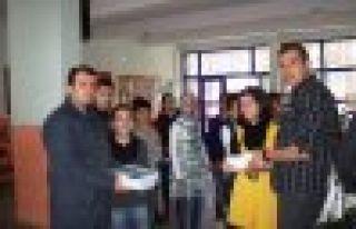 Nuhoğlu'ndan Of Anadolu Lisesi'ne büyük destek