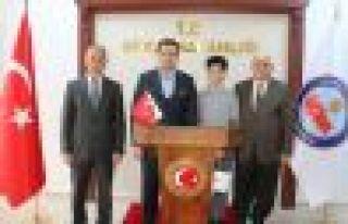 Of İmam Hatip Lisesi öğrencisi Burhan Sönmez Türkiye...