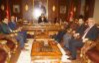 Of Medya Derneğinden Kaymakam Fırat'a ziyaret