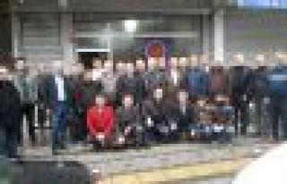Of Şehit Ahmet Türkkan Lisesi mezunları İstanbul'da...