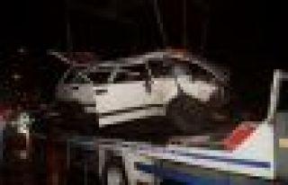 Of Soğukpınar'da kaza; 1 bebek öldü, 6 yaralı