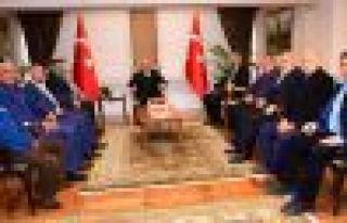 Of Yönetiminden Vali Ustaoğlu'na ziyaret