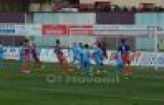 Ofspor Körfez İskenderunspor'a 2-0 mağlup oldu