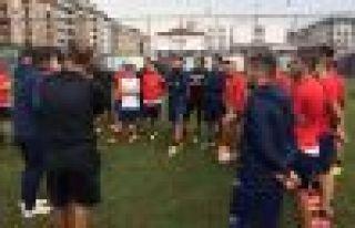 Ofspor Yeni Altındağ Belediyespor maçına hazırlanıyor