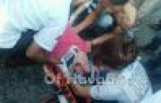 Of'ta aracın çarptığı öğrenci ağır yaralı