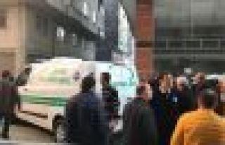 Of'ta asansör kazası 1 kişi hayatını kaybetti
