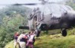 Rize ve Trabzon'da yaşanan afet Of'u etkilemedi