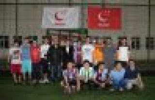 Saadet Partisi Gençlik Kolları'ndan Futbol Turnuvası