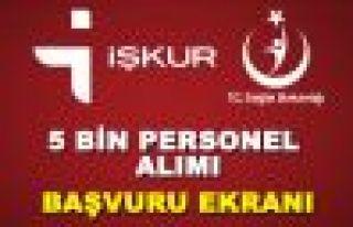 Sağlık Bakanlığı Trabzon'da 28 kadrolu işçi...