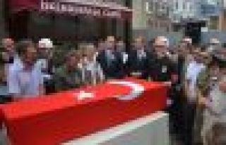 Şehit Murat Durmaz Trabzon'da son yolculuğuna...