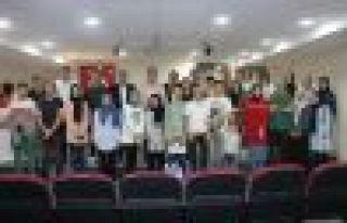 Şehit Necmi Çakır Anadolu Lisesi'nde karne sevinci