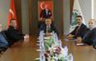 SGK İl Müdürü Erdem Akbay'dan Arsin OSB'ye...