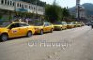 Taksicilerden Of'a çıkarma