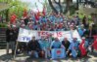 Trabzon'da 1 Mayıs böyle kutlandı