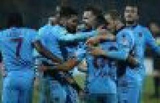 Trabzonspor 5 sezon sonra çeyrek finalde