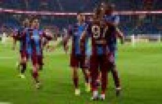 Trabzonspor Avrupa'yı garantiledi