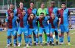 Trabzonspor beraberliklerle bitirdi