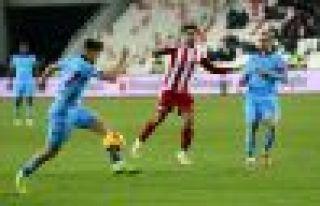 Trabzonspor Sivas'tan bir puanla dönüyor