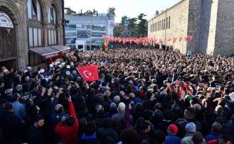 Trabzon Şehit Uzman Çavuş Kadir Tuncer'i uğurladı