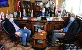 Keleş ve Yaşar'dan Müdür Ak'a hayırlı olsun ziyareti
