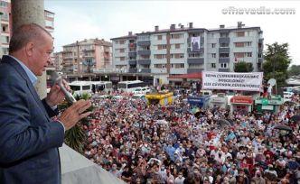 Cumhurbaşkanı Erdoğan Arhavi ve Rize'de