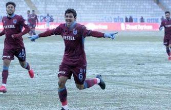 Erzurumspor'u 4-1 yenen Trabzonspor yarı finalde
