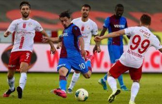 Trabzonspor Antalyaspor'u yenemedi