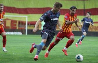 Trabzonspor Kayserispor'u yendi, ligi ikinci bitirdi