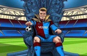 Trabzonspor'un 5. gol kralı Alexander Sörloth