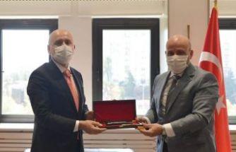 Başkan Terzioğlu'ndan Bakan Karaismailoğlu'na ziyaret