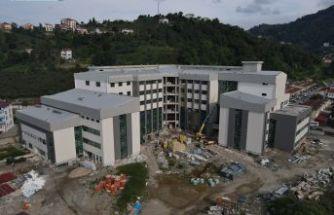 Yeni hastanenin birimleri kuruluyor
