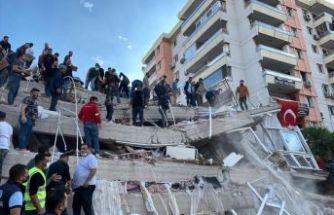 İzmir depreminde vefat sayısı 98 oldu