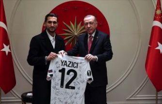 Cumhurbaşkanı Erdoğan Yusuf Yazıcı'yı kabul etti