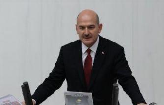 İçişleri Bakanı Süleyman Soylu mecliste HDP'yi topa tuttu