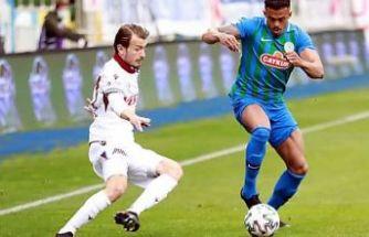Trabzonspor Çaykur Rizespor'la berabere kaldı