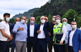 Of-Hayrat Grup İçme Suyunda hatta su verildi