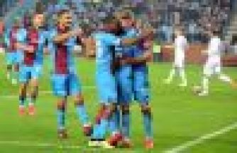 Trabzonspor'dan Erzurumspor'a gol yağmuru