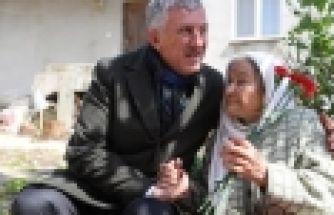105 yaşındaki Asiye Nine'nin Cumhurbaşkanı Erdoğan sevgisi