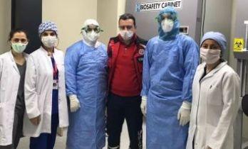 Trabzon'da Covid Laboratuvarı açıldı