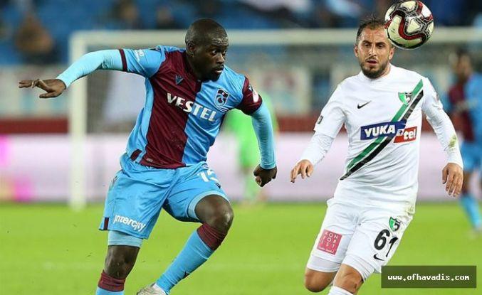 Trabzonspor Denizli'de şampiyonluğa havlu attı
