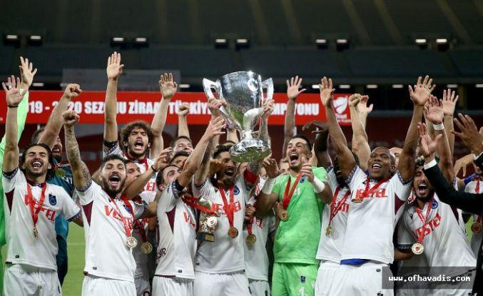 Ziraat Türkiye Kupası 9. kez Trabzonspor'un