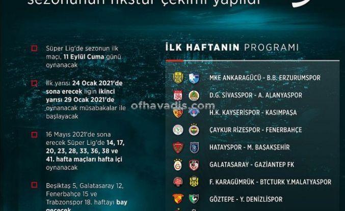 Süper Lig Trabzonspor Beşiktaş derbisiyle başlayacak