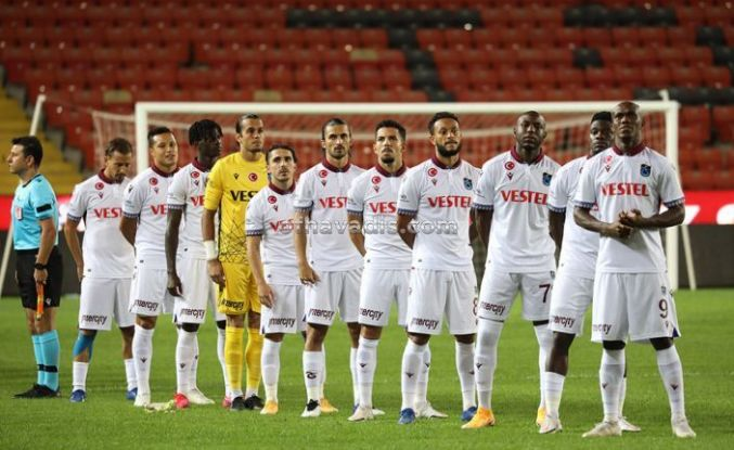 Trabzonspor Gaziantep'te son dakikada 2 puan bıraktı
